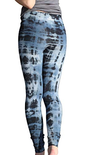 PuraKai Women's Organic Cotton Yoga Pants Made in USA | Workout...