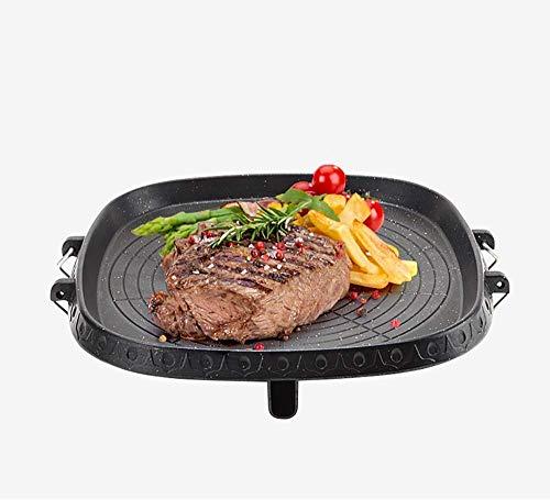 Wzmdd Pizza lade roestvrij staal anti-aanbakplaat oven bakplaat voor gezonde lage vet koken voor BBQ Camping koken op de kookplaat voor koekjes Oven Chips en Pizza