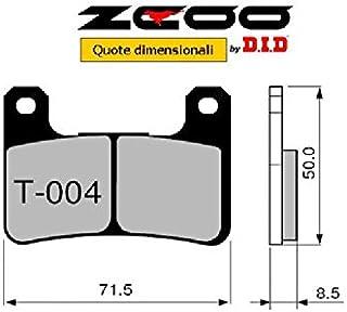 45t00400Bremsbeläge zcoo (T004EX) Suzuki GSX R 7502006–2007(vorne)