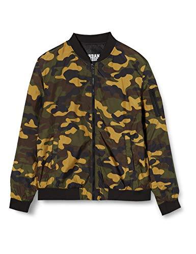 Urban Classics Light Camo Bomber Jacket Streetwear Jackets