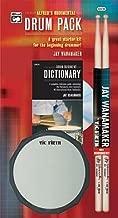 Rudimental Drum Pack: A Great Starter Kit for the Beginning Drummer!, Book, CD, Drum Pad & Sticks (Paperback) - Common