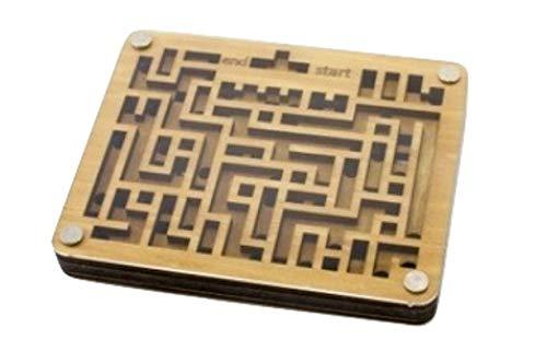 両面使って無限に遊べる迷路おもちゃ 「無限∞迷路」 ラビリンス 木製 両面 集中力 幼児 子供 解決 攻略 【正規品】