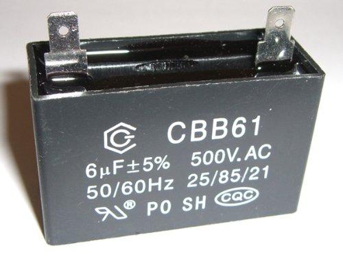 Reserveonderdeel voor Compressor Fengda: aanloopcondensator 6uF