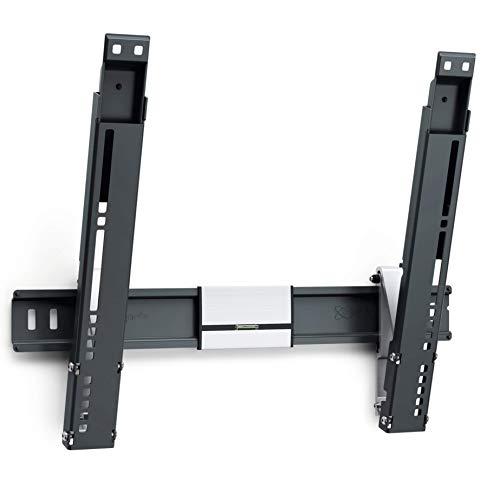 Vogel's THIN 415 TV-Wandhalterung für 66-140 cm (26-55 Zoll) Fernseher, neigbar, max. 18 kg, Vesa max. 400 x 400, schwarz