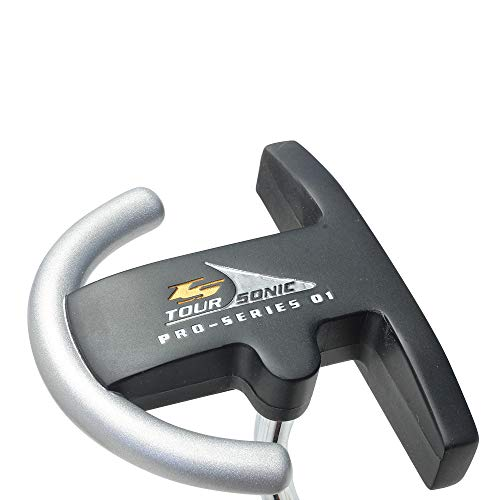 Tour Sonic Pro Series 01 Golf Putter - Right Handed Balanced Bar Alignment Feature, 35 Inches Men's Standard Length Perfect for Lining up Your Putts