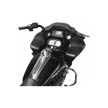 DEMONS CYCLE Mayhem Chrome 16 Rise Ape Hangers 1-1//4 Diameter Handlebars for Harley Road Glide 2016-Up