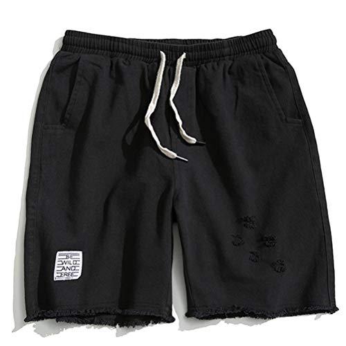 Feidaeu Pantalons pour Hommes décontractés Pantalons Cargo en Coton Droits