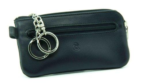 Esquire Schlüsselmäppchen Schlüsseletui Logo Schwarz 349210