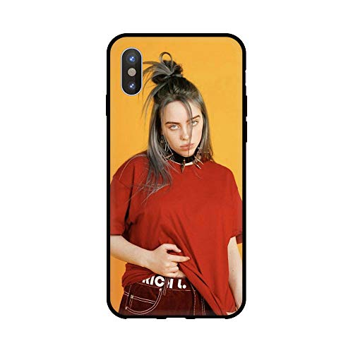 LvShui Billie Eilish Xiaomi Redmi GO Funda Carcasa Suave Silicona Case Cover Billie Eilish Popular Singer para Xiaomi Redmi GO