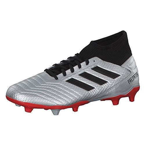 adidas Unisex Hypervenom Phantom Iii Academy Fg Fußballschuh, Silber Schwarz, Large EU
