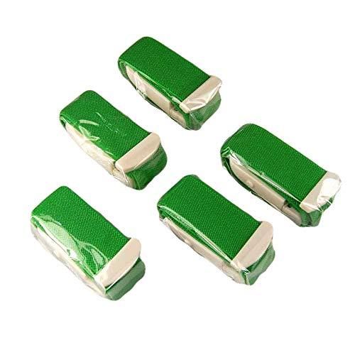 Valuemed, confezione da 5 lacci emostatici con fibbia a rilascio rapido per medici, infermieri e paramedici, in 10colori disponibili