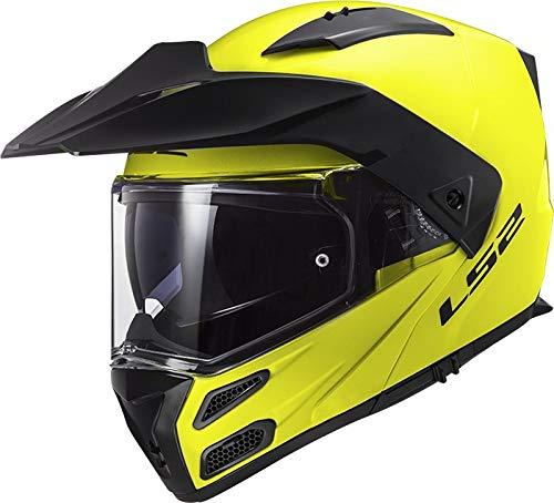 LS2 Motorradhelm FF324 METRO EVO HI-VIS Gelb P/J, Gelb, S