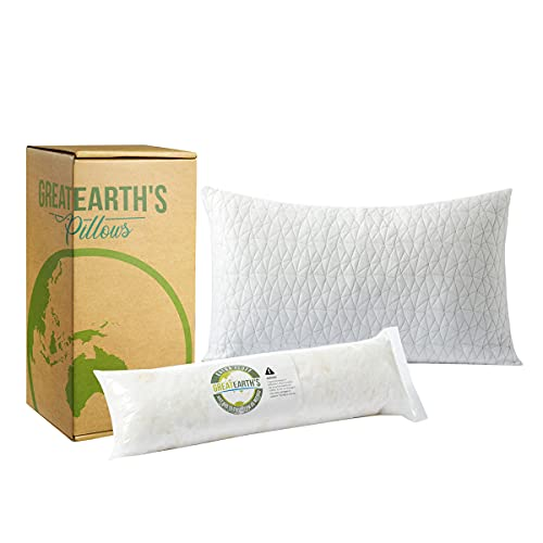 GREAT EARTH'S - Organic Bamboo Shredded Memory...