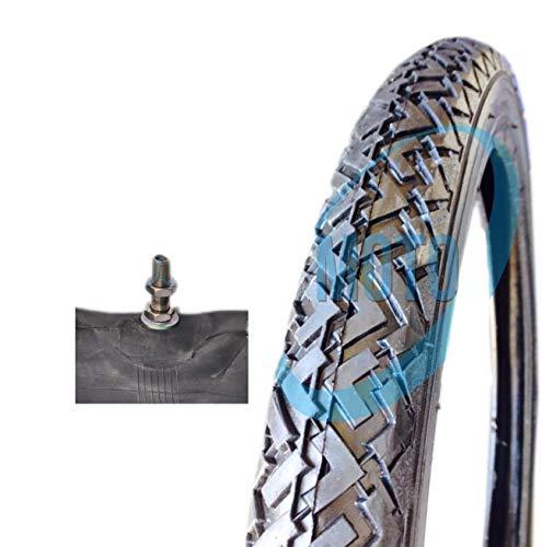 Goma Neumático Neumático + Camera Moto Piaggio Ciao si Bravo 21/4–16