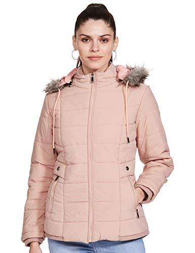 Qube By Fort Collins Women's Jacket (84123Q_Peach_M)