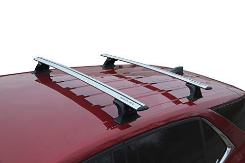 For 2014-2019 Subaru Forester Cross Bar Crossbar Roof Rack OE Style 150 lbs