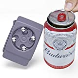 WELTPACKEN Go Swing Topless Can Opener Bar Tool, Remove Top Tool Drinks Corkscrew,Rip and Sip Can Opener Smooth Edge Manual, Professional Effortless Openers for Household Kitchen