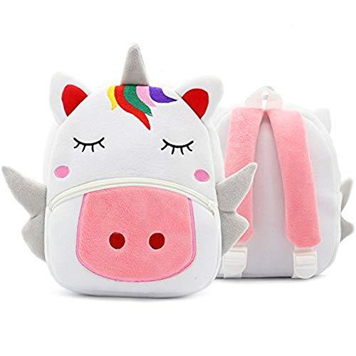 Einhorn-Rucksack - WENTS Niedlichen Cartoon Rucksack Schultasche, geeignet für Kleinkinder 2-5 Jahre alte Kinder Jungen und Mädchen, Kinder(Einhorn)