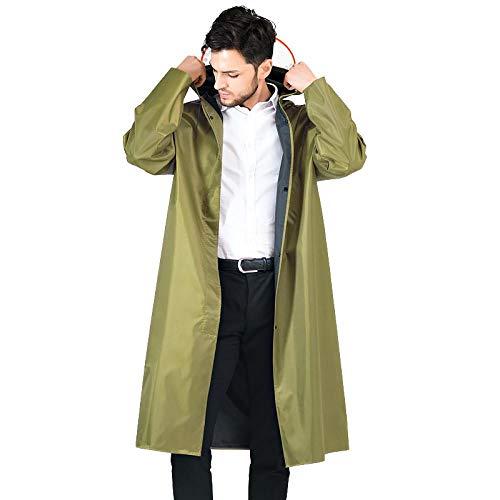 QPYJ Regenjacken Rain Poncho for Adults Adult Siamese Long Raincoat Outdoor Labor Raincoat Poncho Rain Jacket-2_XXXL