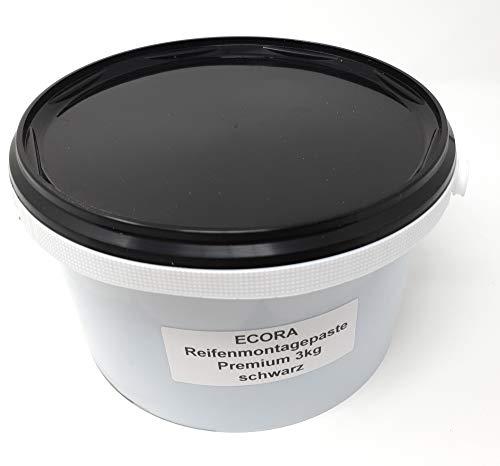 DWT-Germany Pasta para montaje de neumáticos 101429, 3 kg, Premium Montagewax, pasta de montaje de neumáticos, color negro