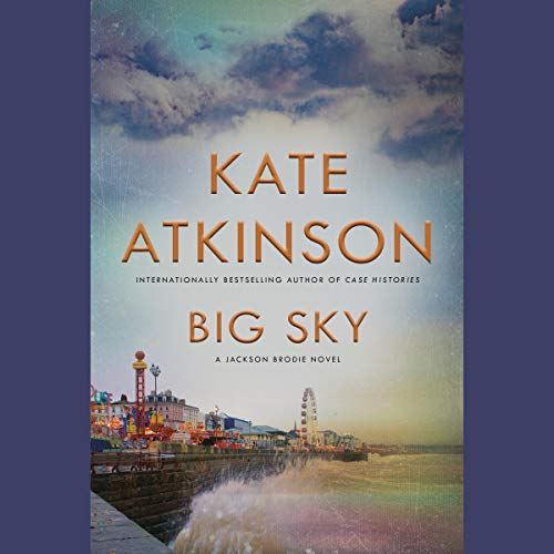 Big Sky audiobook cover art
