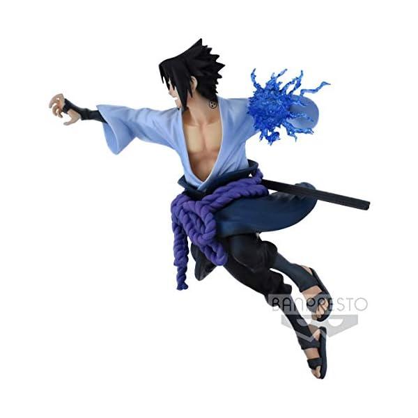 Naruto Shippuden - Figura de colección Uchiha Sasuke (Bandai 85456) 3
