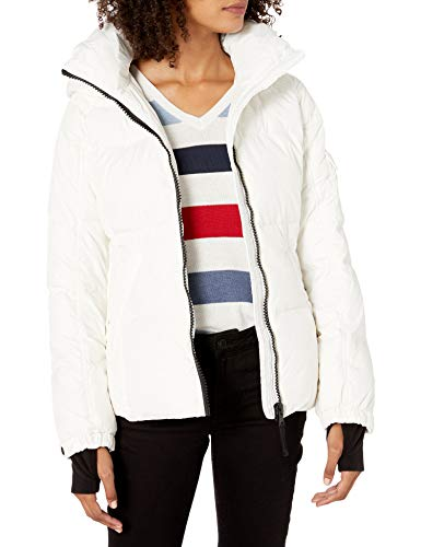 S13 Women's Kylie Down Puffer Jacket, White, X-Large