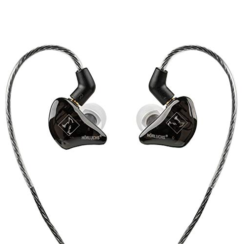 HÖRLUCHS ® Easy UP Ergonomischer In-Ear Kopfhörer - HighEnd Monitoring