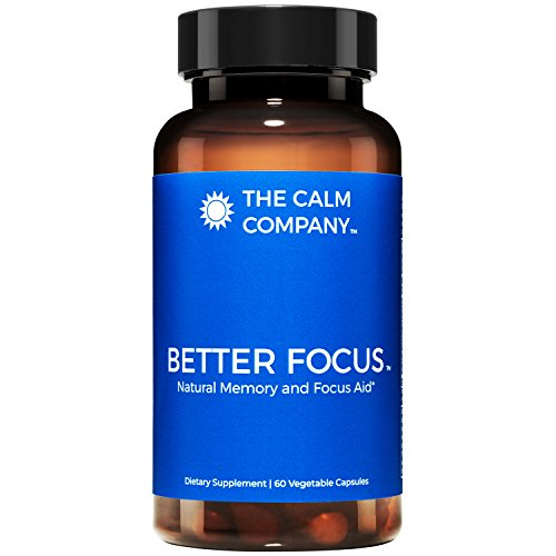 Better Focus - Nootropics Brain Support Supplement – Memory, Clarity, Energy & Focus Pills | Ginkgo Biloba, NeuroFactor, Bacopa Monnieri Root, DMAE, TheaKalm & More | Brain Booster 60 Vegan Caps