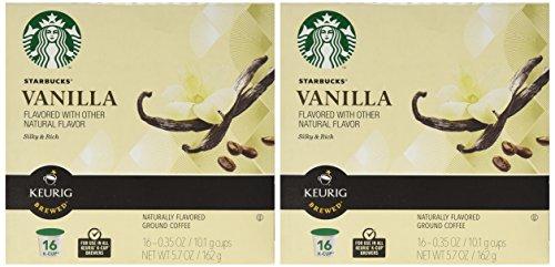 Starbucks Vanilla Coffee Keurig K-Cups, 32 Count