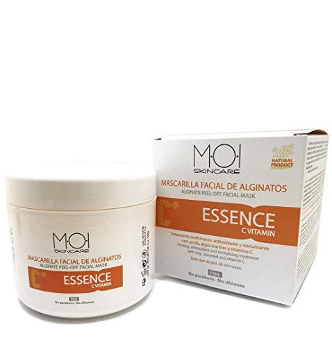Mascarilla facial revitalizante de alginatos ESSENCE con vitamina C 150gr. M·O·I Skincare