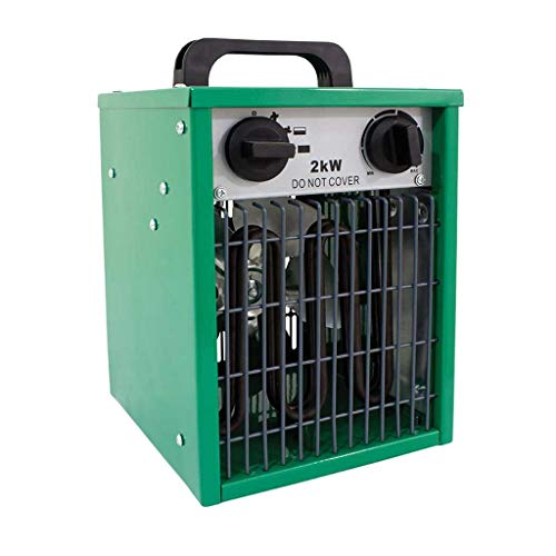 2kw Electric Greenhouse Heater Parasene 1kw or 2kw Modes Hydroponics Grow Tents