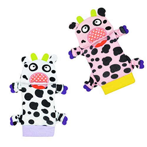 Auplew Jingle Socken Säugling Baby Socken Kleinkind rutschfeste Söckchen für Kinder Rentier Socken Weihnachtsstrümpfe Jingle Bell Niedlich