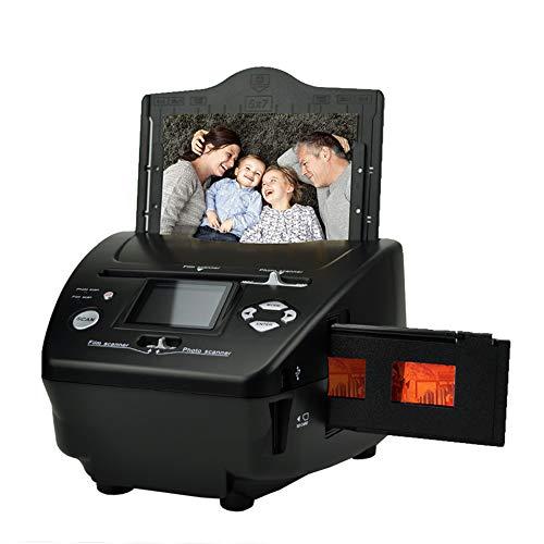 LANGYINH dia- en filmscanner, converteert dia's naar digitale JPG-bestanden en slaat deze op SD-kaart, met 2,4