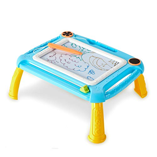 LODBY Toys for 1-5 Year Old Boys Gifts, Toddler Magnetic Doodle Board Drawing Pad for Kids Gifts for 1 2 3 4 5 Year Old Boys Christmas Birthday Gifts for Age 2-4 Year Old Boys Toys Age 2-5