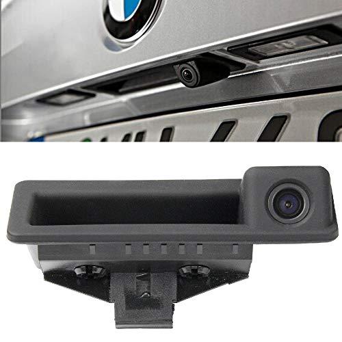 Newbee Rückfahrkamera in Griffleiste/Griffmulde Einparkhilfe für BMW E82 E88 E84 E90 E91 E92 E93 E60 E61 E70 (Model A=110 x 40 mm)