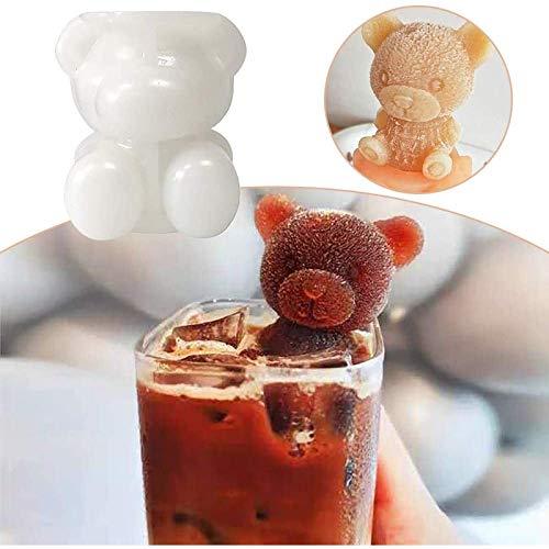 QIERK Ice Cubes Manufacturing Machine Cub Schokolade Modell Eiswerkzeuge Whisky Chicken Tail Ice Cubes Silikonform Zwei Stücke