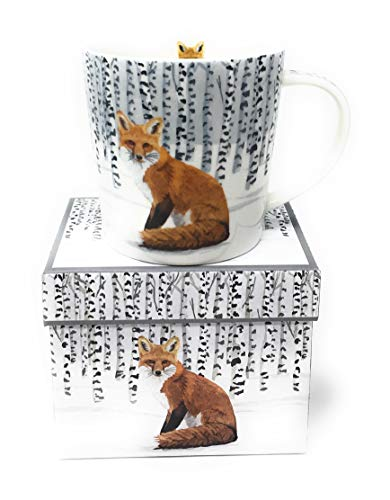 Paper Products Design Wilderness Fox Gift Boxed Mug, 1 EA