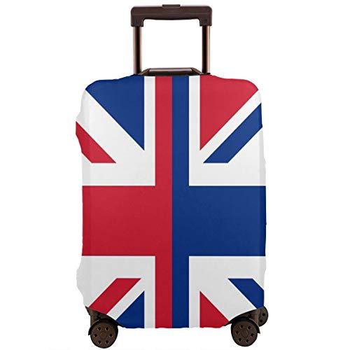 Funda protectora de equipaje de viaje con la bandera de Inglaterra, de elastano, lavable, para equipaje de 45,7 a 81,2 cm