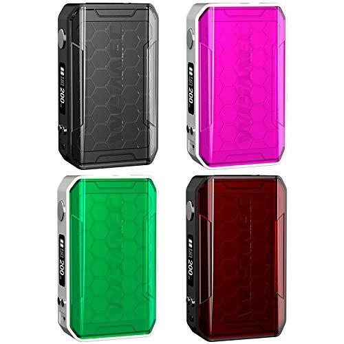 Wismec Sinuous V200 200W TC Box Mod Akkuträger Farbe Pink