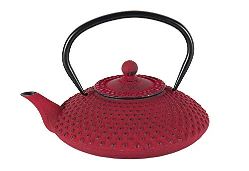 BREDEMEIJER theepot Asia Xilin 1,25 l rood