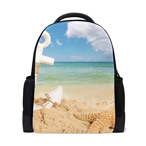 FANTAZIO Mochila de playa y ancla mochila escolar