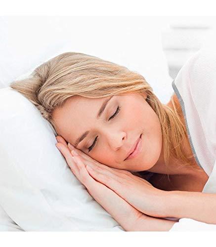 Almohada viscoelástica con partículas de carbón activo. Evita la creación de humedades y malos olores. Recolax Visco Acticarbón (80 cm)