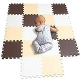 BUCHAQIAN Tappetino da Gioco per Bambini, 18pezzi/Lotto Eva Foam Play Puzzle Mat Interlock...