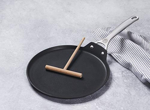 """Le Creuset Toughened Nonstick PRO Crepe Pan with Rateau, 11"""""""