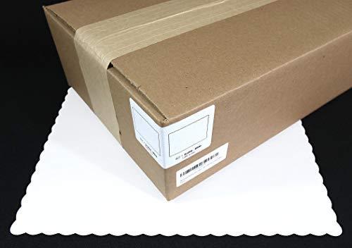 Neumark Restaurant Paper Placemats Scalloped (1,000 Box/case) White