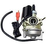 KDSG 17mm Electric Choke Carburetor for Honda 2 Stroke 50cc Dio 50 AF34 AF35 ZX34 ZX35 2 SP SYM Kymco Buddy 50 Moped Motor Scooter