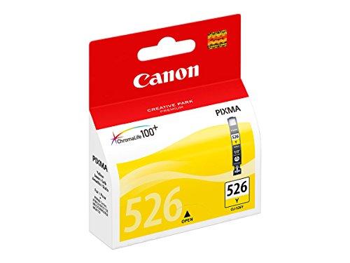 Canon CLI-526 Cartouche Y Jaune (Pack plastique sécurisé)