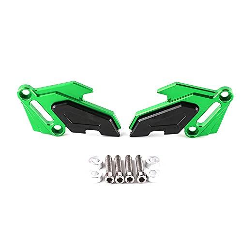 ZMMWDEPinzas de Freno modificadas para Motocicleta, Cubierta Protectora Decorativa, Accesorios de aleación de Aluminio CNC, para Kawasaki Z800 Z900 Naranja