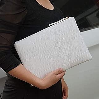 iBag's Fashion crocodile women's clutch bag pu leather women envelope evening bag 2019 new female Clutches Handbag bolsa feminina purse